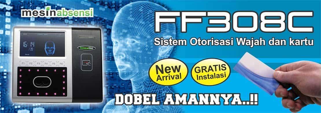 Mesin absensi wajah dan kartu RFID